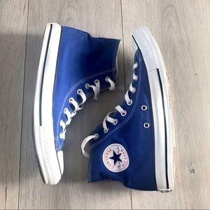 BLUE CONVERSE CHUCK TAYLOR ALL STAR HIGH TOP